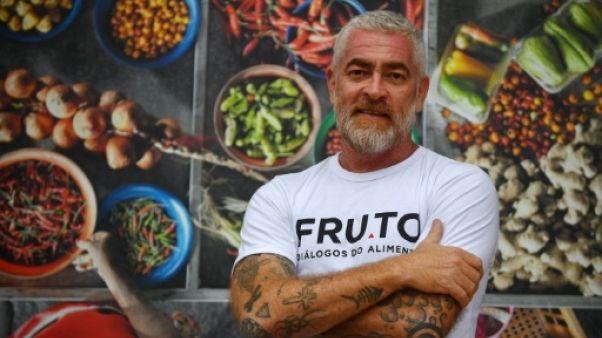 Le chef brésilien Alex Atala, héraut des saveurs amazoniennes