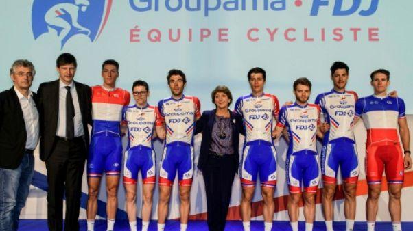Cyclisme: Groupama-FDJ veut asseoir ses fondations pour aller plus haut