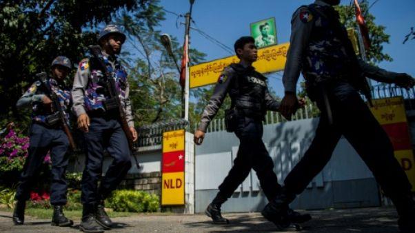 Birmanie: un cocktail Molotov lancé sur la maison d'Aung San Suu Kyi