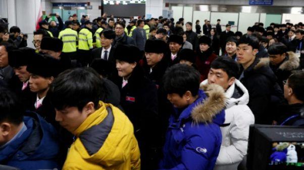 JO-2018: les athlètes nord-coréens sont arrivés au Sud