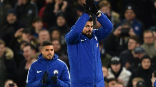 Giroud: la C1 a fait pencher la balance pour Chelsea