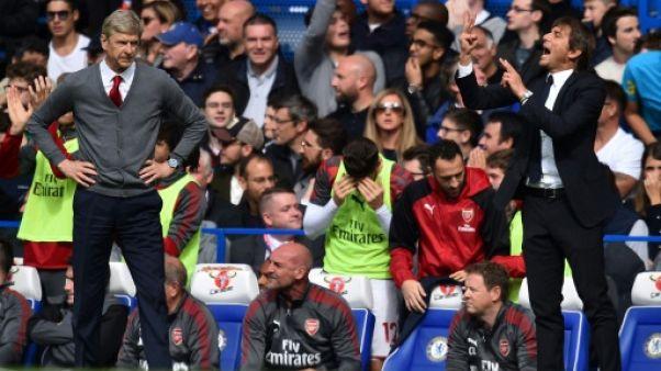Angleterre: après un mercato bouillant, Wenger et Conte sur le grill?