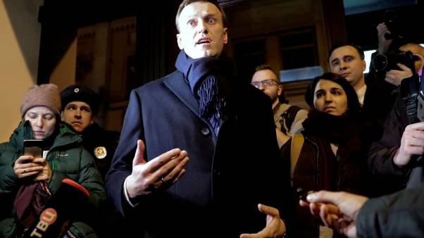 Putin critic Navalny barred from Russian presidential election