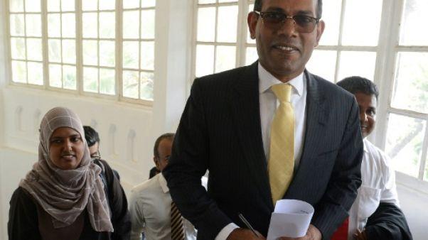 Maldives: l'opposant en exil Nasheed se présentera à la présidentielle