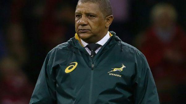Rugby: le très décrié Coetzee cède la direction des Springboks