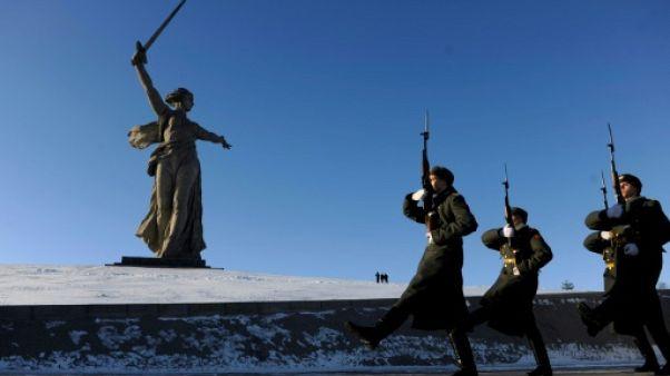 """La Russie célèbre les 75 ans de son """"triomphe"""" à Stalingrad"""