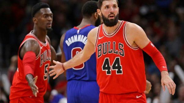 NBA: Mirotic passe de Chicago à la Nouvelle-Orléans