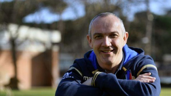 """Tournoi: le sélectionneur de l'Italie Conor O'Shea a """"tellement envie de gagner!"""""""