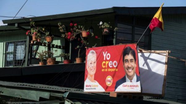 Présidentielle au Costa Rica: quatre candidats, le mariage gay en débat