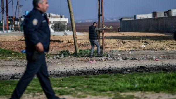 Turquie: deux morts dans la chute de roquettes tirées depuis la Syrie