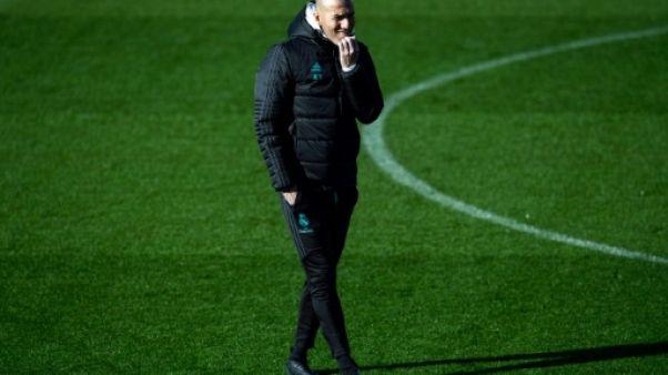 """Real Madrid: Zidane a 12 jours pour """"remettre de l'essence"""" avant le PSG"""