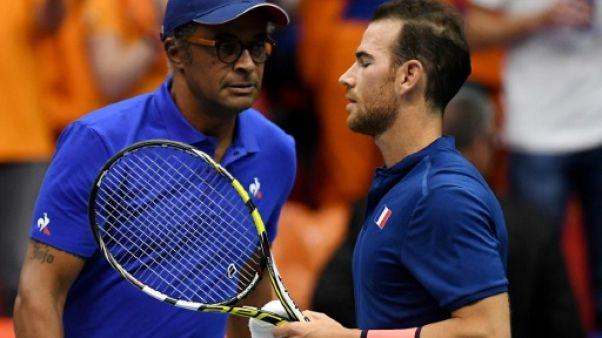 """Coupe Davis: """"Ce coup-ci on n'a pas de chance"""", estime Noah"""