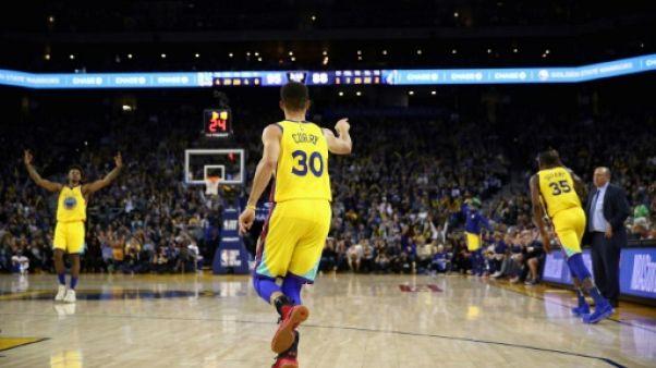 NBA: Golden State repart de l'avant, Batum brille avec Charlotte
