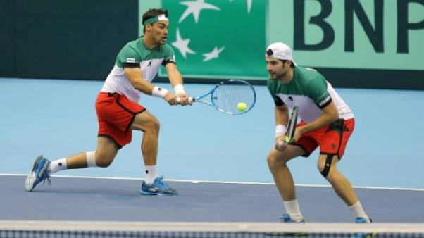 Coupe Davis: l'Italie prend l'avantage devant le Japon