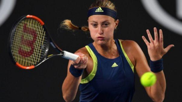 Tennis: Kristina Mladenovic en finale à Saint-Pétersbourg