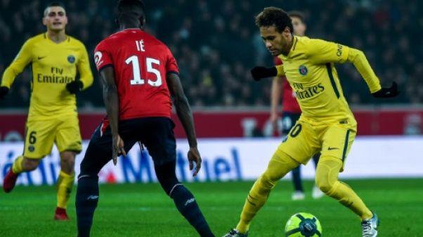 L1: Paris écarte Lille, du mieux pour Saint-Etienne, Bordeaux et Toulouse