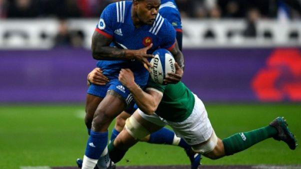Tournoi: la France menée 3 à 9 par l'Irlande à la mi-temps
