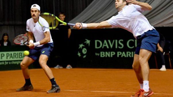 Coupe Davis: les Etats-Unis qualifiés pour les quarts