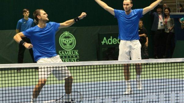 Coupe Davis: la Suisse et la Serbie déjà au tapis