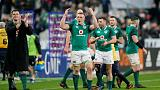 Rugby - Sexton breaks French hearts with last-second drop goal