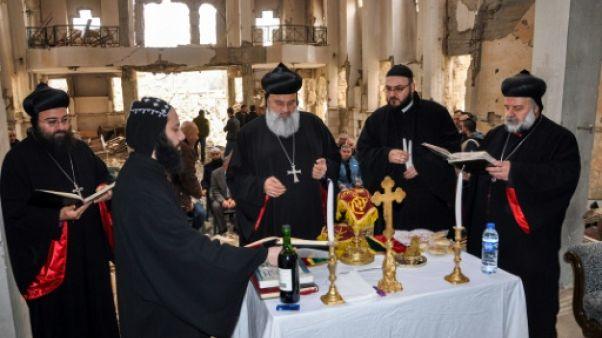 Syrie: première messe depuis 6 ans à l'église de Deir Ezzor