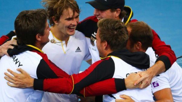 Coupe Davis: l'Allemagne d'Alexander Zverev bat l'Australie