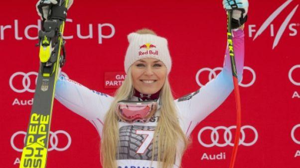 Ski: intouchable à Garmisch, Vonn part aux JO en grande favorite