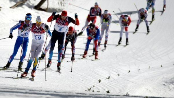 Ski de fond: des athlètes engagés à Pyeongchang soupçonnés de dopage dans le passé