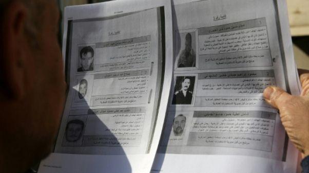 """L'Irak publie pour la première fois les noms de 60 """"terroristes"""" recherchés"""