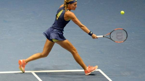 Tennis: Mladenovic bute sur Kvitova en finale à Saint-Pétersbourg