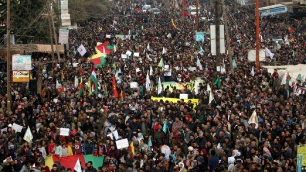 """Syrie: Moscou doit cesser d'être """"complice"""" d'Ankara, clament les autorités d'Afrine"""
