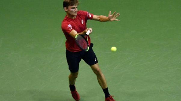 Coupe Davis: Goffin envoie la Belgique en quarts
