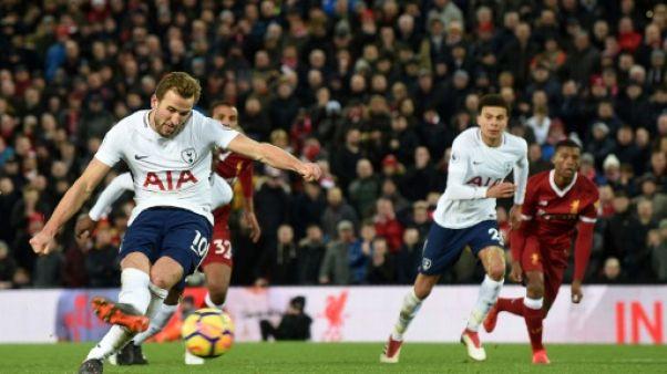 Angleterre: Tottenham colle aux basques de Liverpool