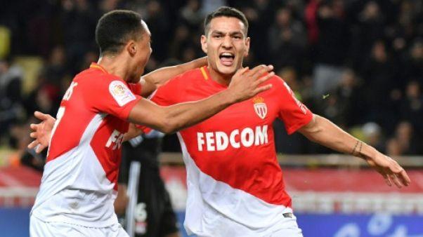 Ligue 1: Monaco assomme un Lyon bien naïf