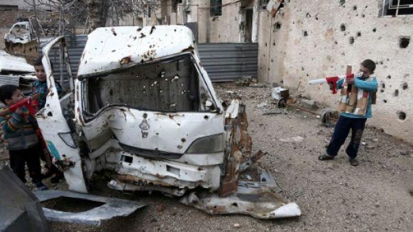 """Janvier """"sanglant"""" au Moyen-Orient, 83 enfants tués, s'alarme l'Unicef"""
