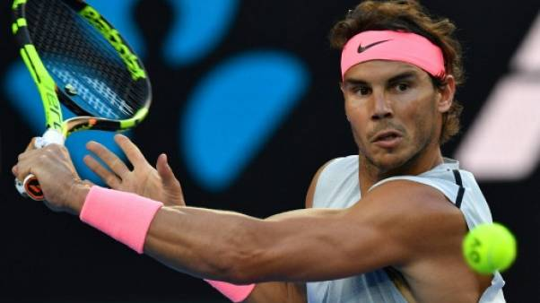 Tennis: le N.1 mondial Nadal espère rejouer à Acapulco fin février