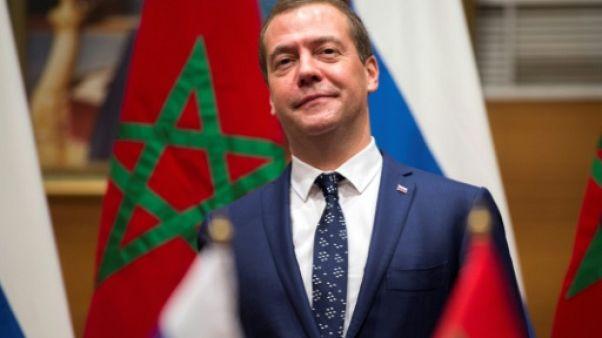 """JO-2018: Medvedev dénonce une décision """"honteuse"""" du CIO"""