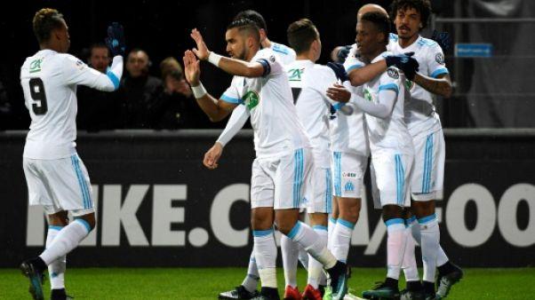 Coupe de France: Marseille sans pitié pour Bourg