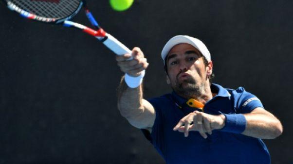 Tennis: ça passe pour Chardy et Simon au premier tour du tournoi de Montpellier