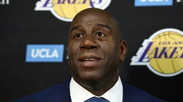 NBA: Magic Johnson sanctionné d'une amende pour avoir... complimenté un adversaire