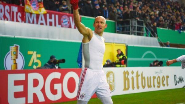 Coupe d'Allemagne: le Bayern file en demie