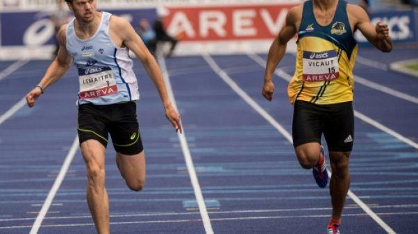Athlétisme en salle: duel entre Vicaut et Lemaitre à Bercy, Mayer au triathlon