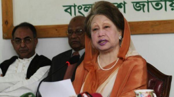 Bangladesh: à la veille de son verdict pour corruption, la cheffe de l'opposition clame son innocence