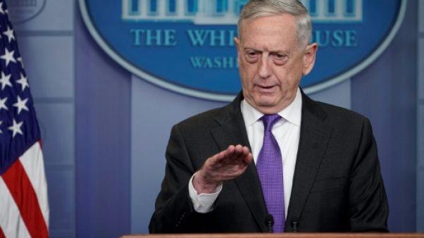 """La crise avec Pyongyang """"clairement dans le champ de la diplomatie"""" selon le Pentagone"""