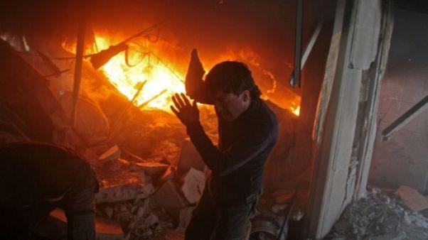 Syrie: plus de 100 membres des forces prorégime tués par la coalition