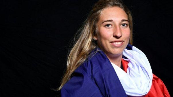 """JO-2018: Chloë Trespeuch """"rêve d'un triplé"""" bleu en snowboardcross"""