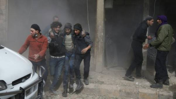 Syrie: 22 civils tués dans de nouvelles frappes du régime contre un fief rebelle