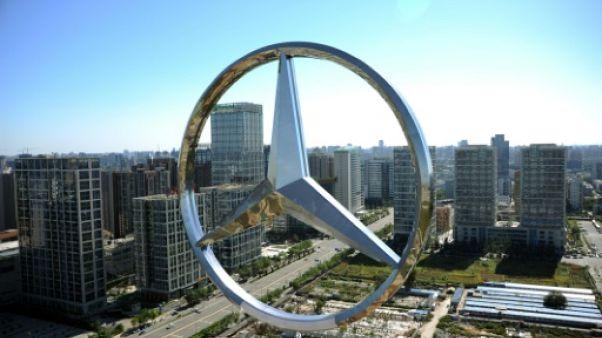 Mercedes et le dalaï lama: Daimler s'excuse à nouveau auprès de Pékin