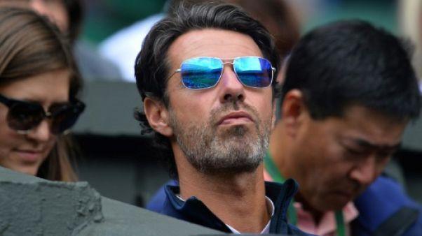 """Coupe Davis: Patrick Mouratoglou """"à la disposition"""" de l'équipe de France"""