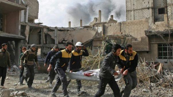 Syrie: plus de 210 civils tués en 4 jours de raids sur un fief rebelle